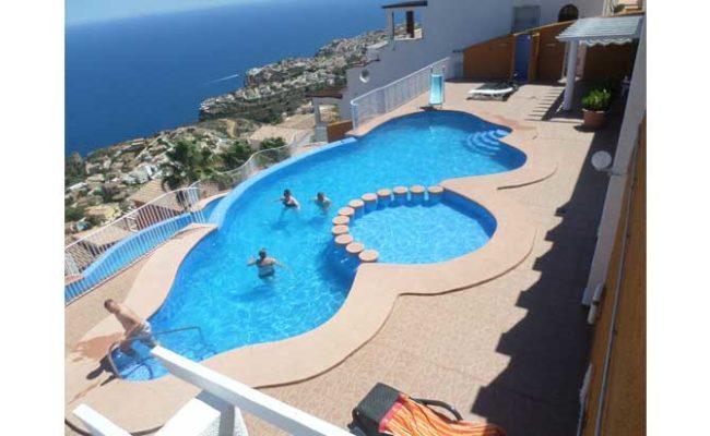 Costa blanca moraira location de vacances location for Appart hotel 2 moraira