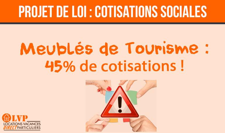 COTISATIONS SOCIALES SUR LES REVENUS LOCATIFS !