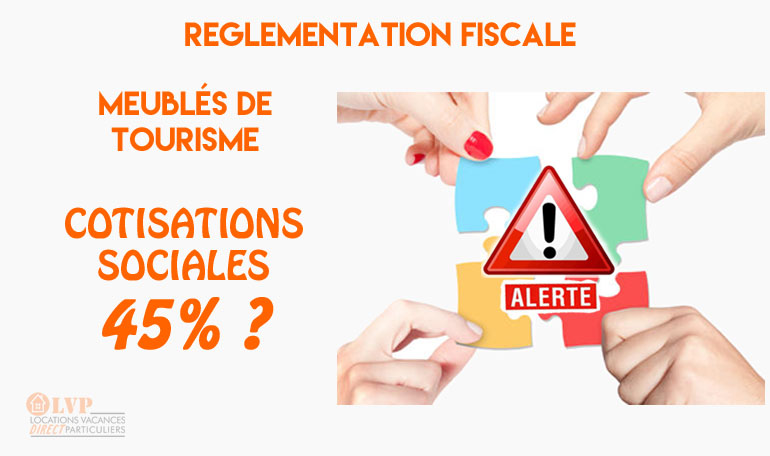 Cotisations sociales sur les revenus locatifs - Declaration revenus location meuble de tourisme ...