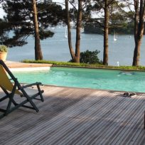 Maison avec piscine – Vue mer panoramique
