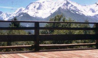 St Gervais / Megève – Face au Mont Blanc