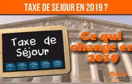 TAXE DE SEJOUR 2019
