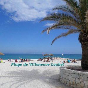 Studio à Villeneuve Loubet au Coeur de la Côte d'Azur