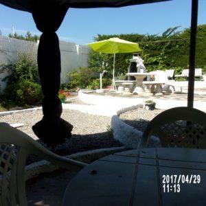 villa independante sur 450mc face a la baie de roses
