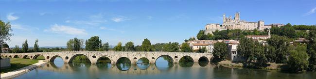 Le Pont Vieux à Béziers