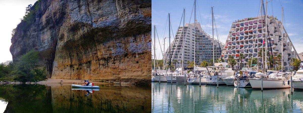 (c)Pixabay : L'Hérault coté nature et La Grande Motte... Deux ambiances.
