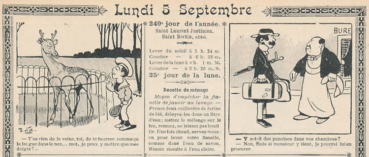 Illustration du Journal du 5 sept. 1904