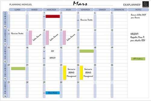 planning ical